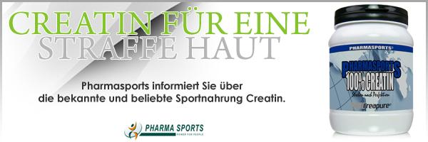 Creatin - Kreatin für straffe Haut. Pharmasports informiert