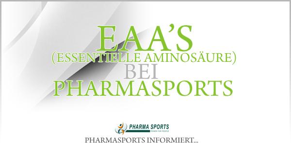 EAA's - essentielle Aminosäuren bei Pharmasports - EAAs Shop