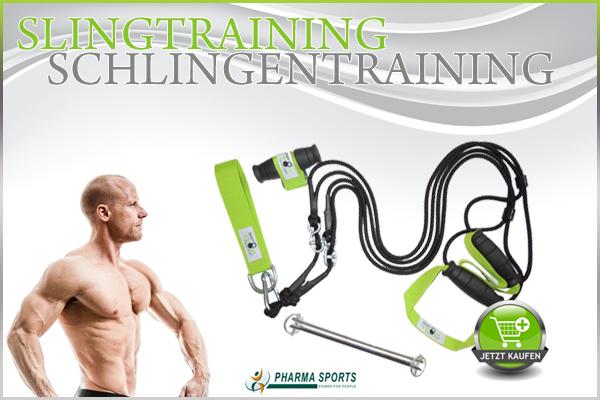 Slingtraining - Schlingentrainer Training bei Pharmasports
