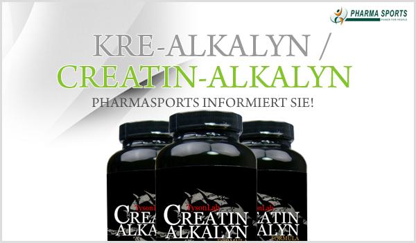 Kre-Alkalyn, Creatin-Alkalyn Informationen bei Pharmasports