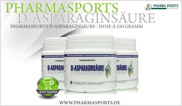 pharmasports d asparagins ure 100 reine aminos ure. Black Bedroom Furniture Sets. Home Design Ideas