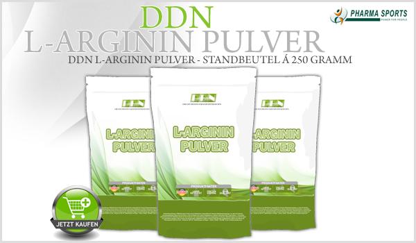 Das nächste DDN Supplement bei Pharmasports - DDN L-Arginin Pulver