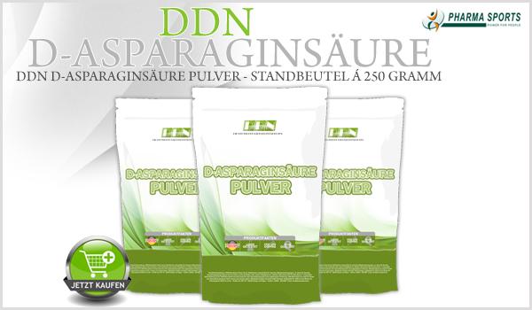 DDN D-Asparaginsäure Pulver als nächstes neues Produkt bei Pharmasports