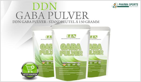 DDN Gaba Pulver bei Pharmasports - Standbeutel á 150 Gramm