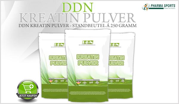 DDN Kreatin Pulver - hochwertiges Creatin Monohydrat in Pulverform