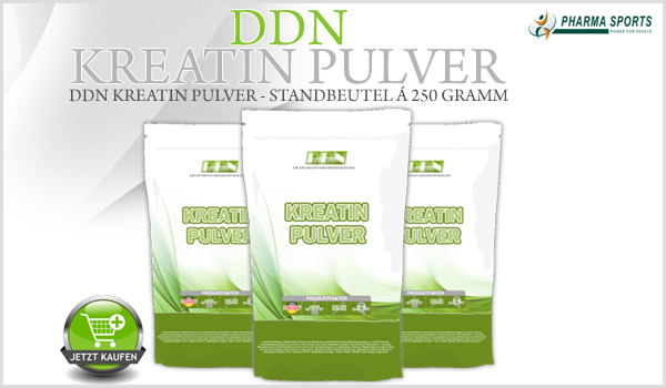 Neu bei Pharmasports – DDN Kreatin Pulver