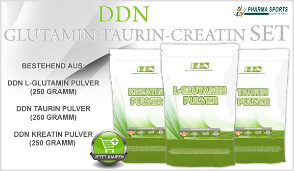 DDN Glutamin-Taurin-Kreatin Set bei Pharmasports