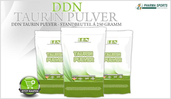 Nächste DDN-Supplement im Sortiment - DDN Taurin Pulver!