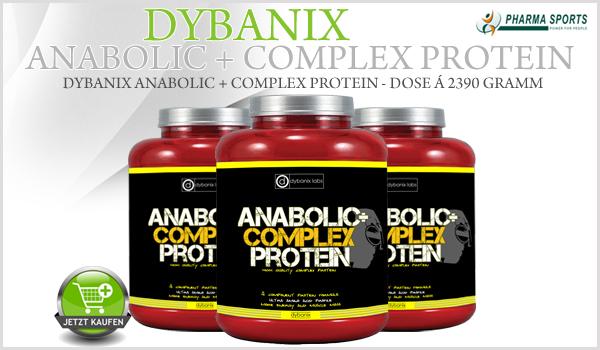 Neues Mehrkomponenten-Protein - Dybanix Anabolic + Complex Protein