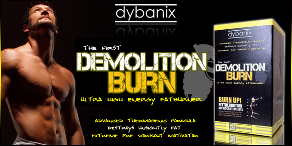Dybanix Demolition Burn bei Pharmasports