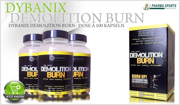 Dybanix Demolition Burn