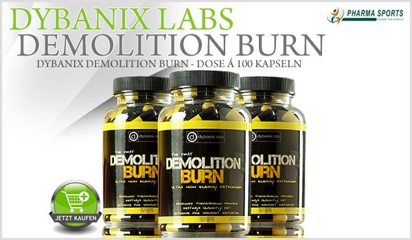 Dybanix Demolition Burn - Dose á 100 Kapseln