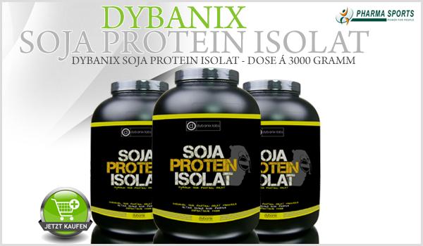 Neu im Sortiment: Dybanix Soja Protein Isolat in der 3000 Gramm Dose