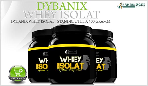 Dybanix Whey Isolat - Standbeutel á 500 Gramm