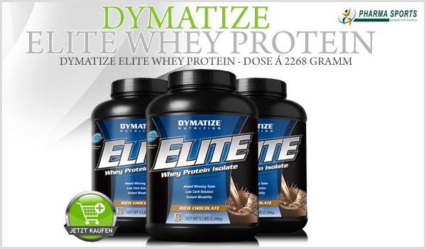 Neu im Sortiment - Dymatize Elite Whey Protein!