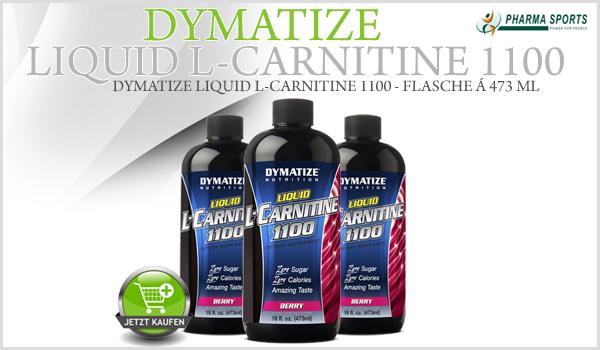 Neues Carnitin Liquid bei Pharmasports - Dymatize Liquid L-Carnitine 1100