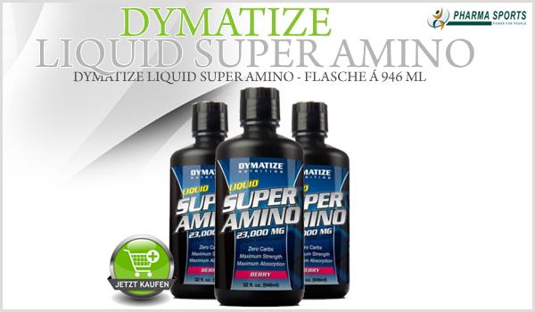 Dymatize Liquid Super Amino - hochwertige Aminosäuren in der flüssigen Form