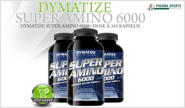 Ab sofort bei Pharmasports - Dymatize Super Amino 6000