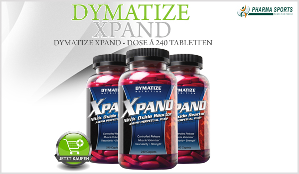 Dymatize Xpand - 240 Tabletten Dose ab sofort bei Pharmasports