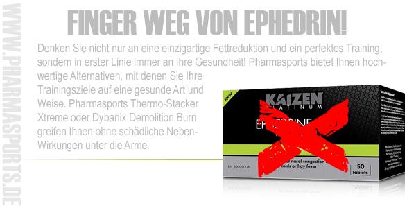 Ephedrin Alternativen bei Pharmasports