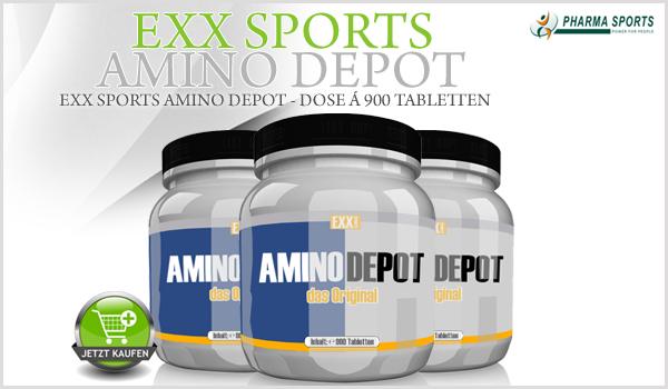 NEU bei Pharmasports - EXX Sports Amino Depot