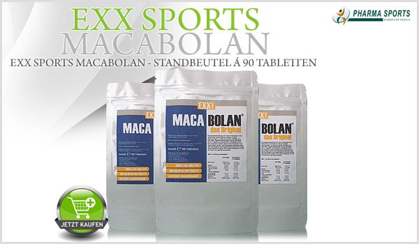 EXX Sports Macabolan ab sofort bei Pharmasports!