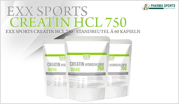EXX Sports Premium Line Creatine HCL 750