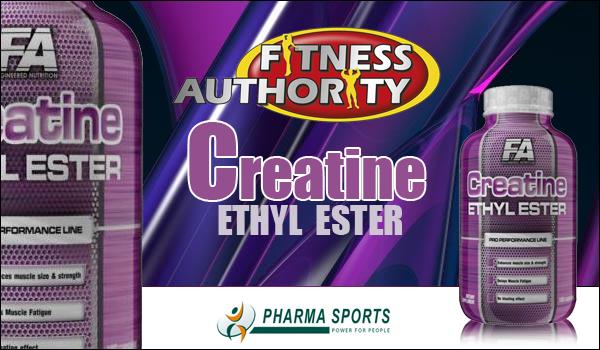 Fitness Authority Creatine Ethyl Ester für mehr Muskelmasse und Kraft