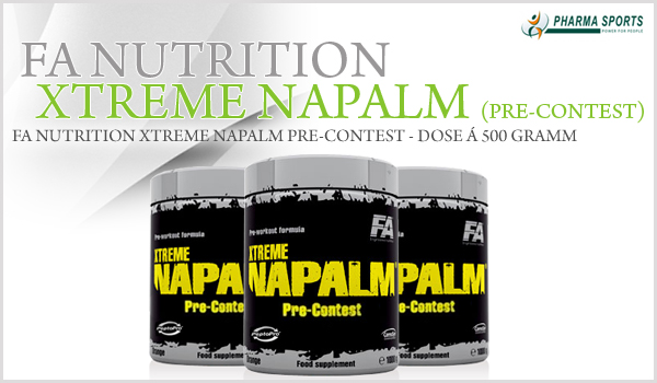FA Nutrition Xtreme Napalm Pre-Contest bei Pharmasports