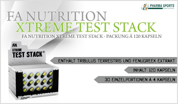 FA Nutrition Xtreme Test Stack neu bei Pharmasports!
