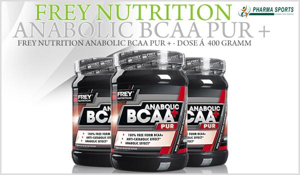 Frey Nutrition Anabolic BCAA Pur + - ein weiteres hochwertiges BCAA Supplement