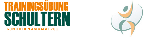 Trainingsübung Frontheben am Kabelzug + kostenlosem Video