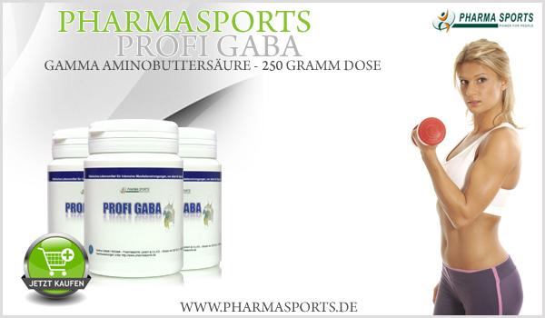 Pharmasports Profi Gaba - Gaba Pulver