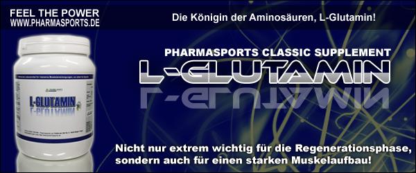L-Glutamin Infos Glutamin Muskelaufbau