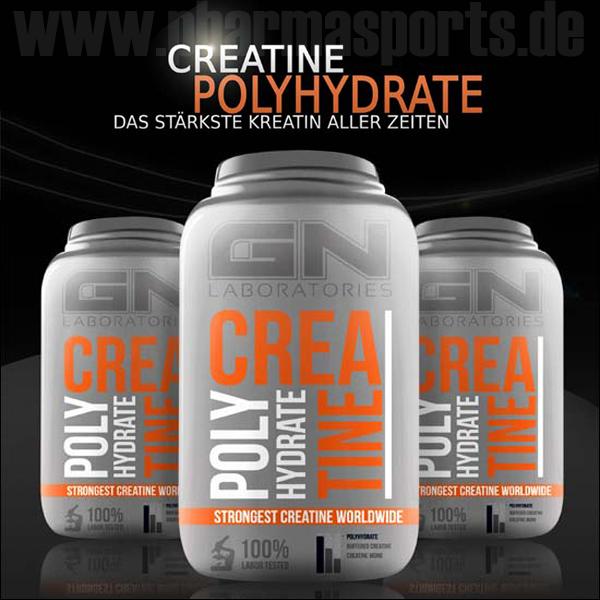 GN Laboratories Creatine Polyhydrat für die richtige Power