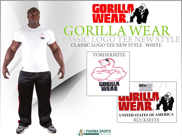 Gorilla Wear Classic Logo Tee New Style bei Pharmasports