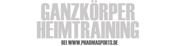 Ganzkörper Heimtraining mit Pharmasports