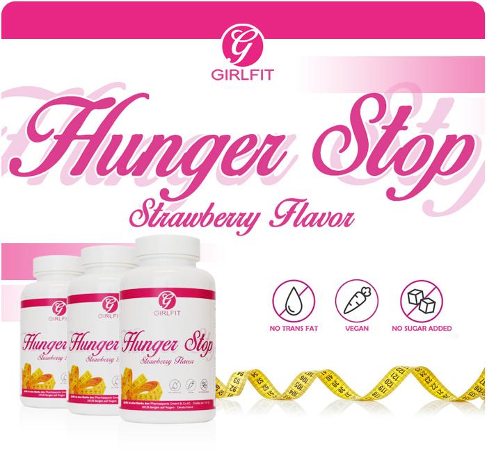 Girlfit Hunger Stop - effektiv gegen Heisshungerattacken