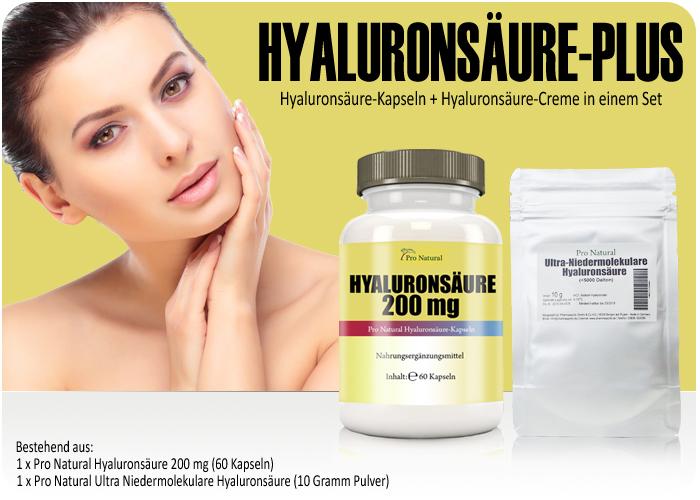 Pro Natural Hyaluronsäure-Plus bei Pharmasports bestellen