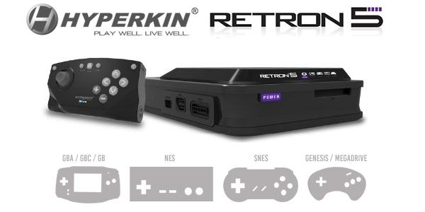 Hyperkin Retron 5 – etwas besonderes für Spieleliebhaber!