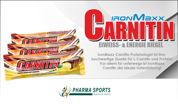 IronMaxx Carnitin Riegel