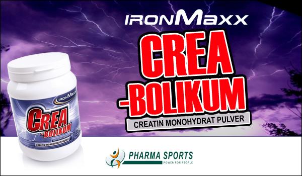 IronMaxx Creabolikum für einen einzigarten Muskelaufbau