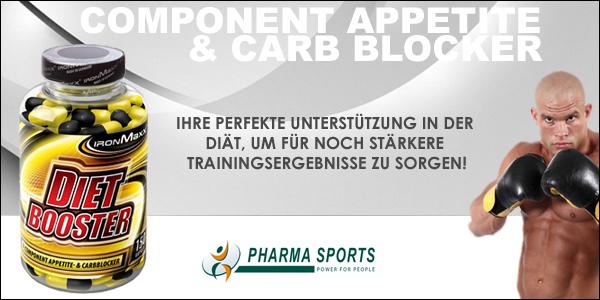 IronMaxx Dietbooster für starke Ergebnisse im Bereich der Fettreduktion