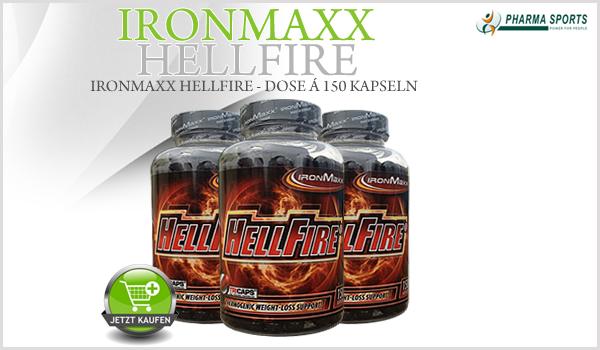 Neu bei Pharmasports: IronMaxx Hellfire