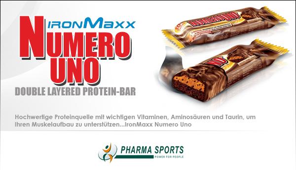 IronMaxx Numero Uno bei Pharmasports