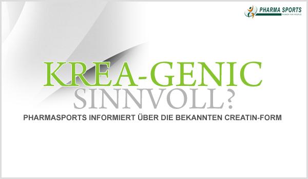 Wichtige Informationen zum beliebten Krea-Genic Creatin