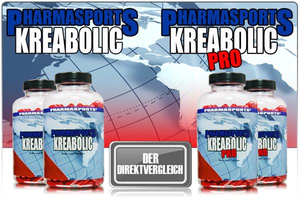 Kreabolic im Direktvergleich mit Kreabolic Pro