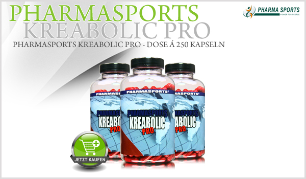 Pharmasports Kreabolic Pro - Dose á 250 Kapseln