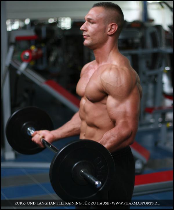 Übungen zu Muskelaufbau