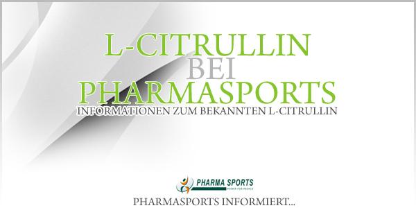 L-Citrullin bei Pharmasports - L-Citrullin Shop